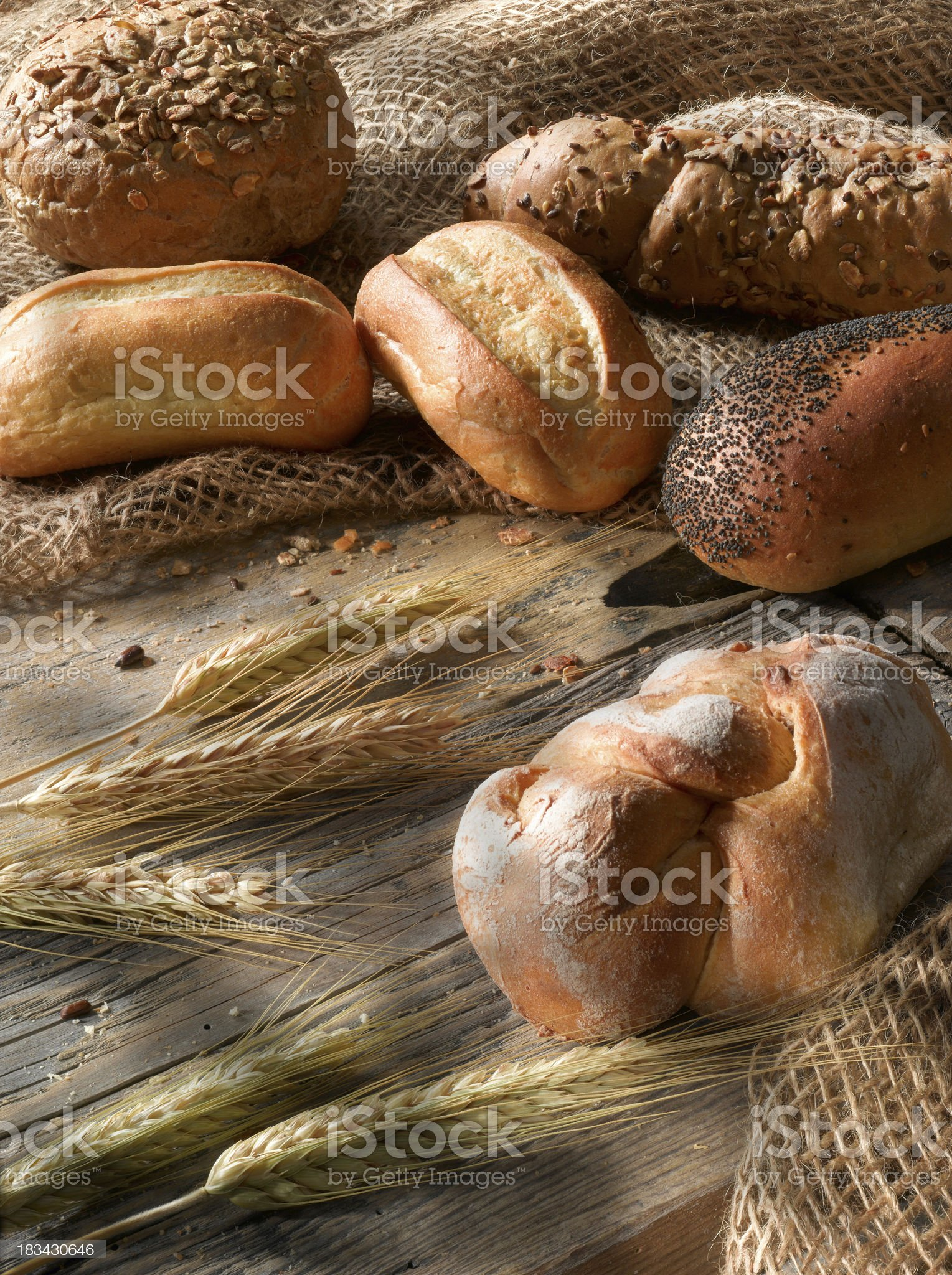 Bread and bakeries. royalty-free stock photo