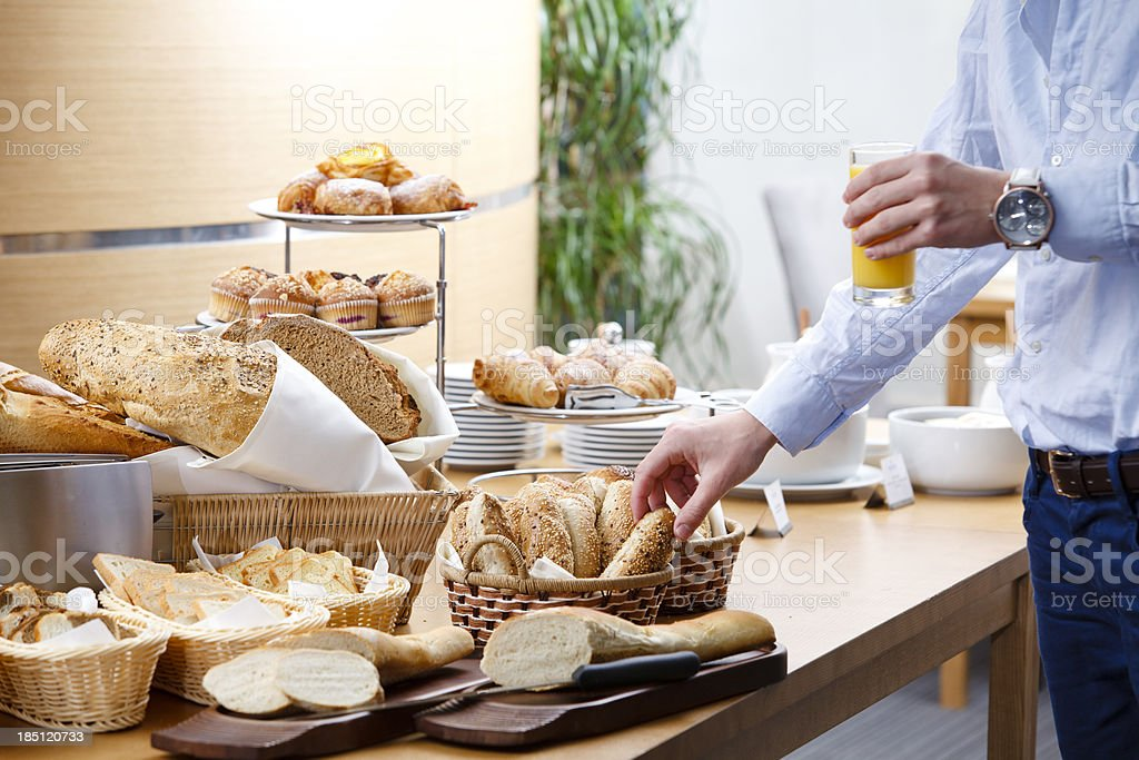 Bread and bakeries royalty-free stock photo