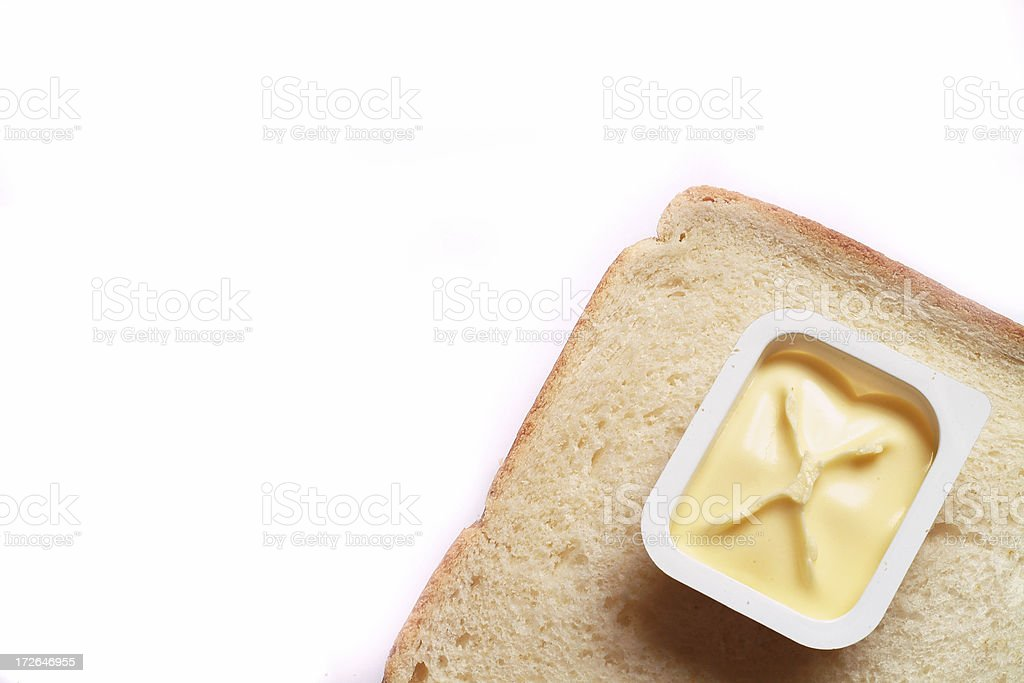 Bread and butter income stock photo