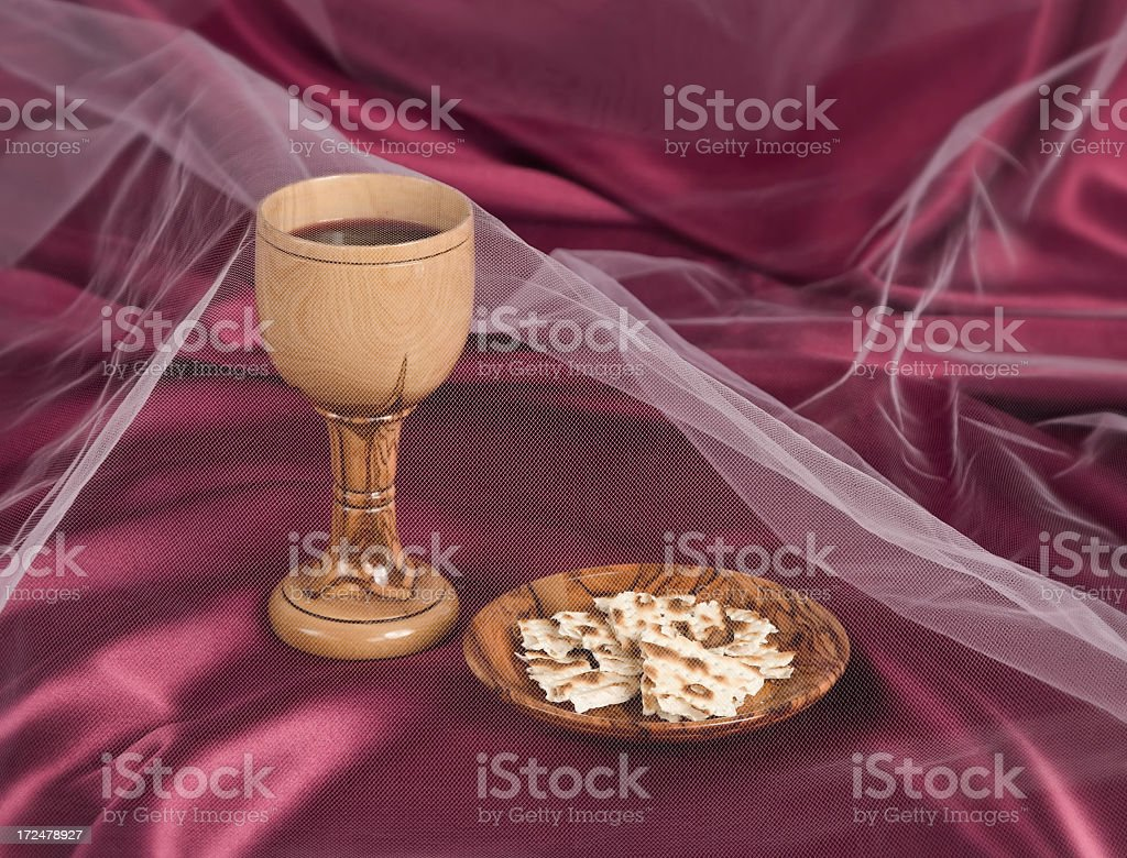 Bread and Cup Series royalty-free stock photo