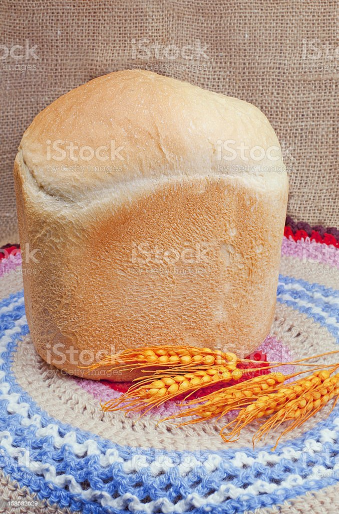 Bread and ears royalty-free stock photo