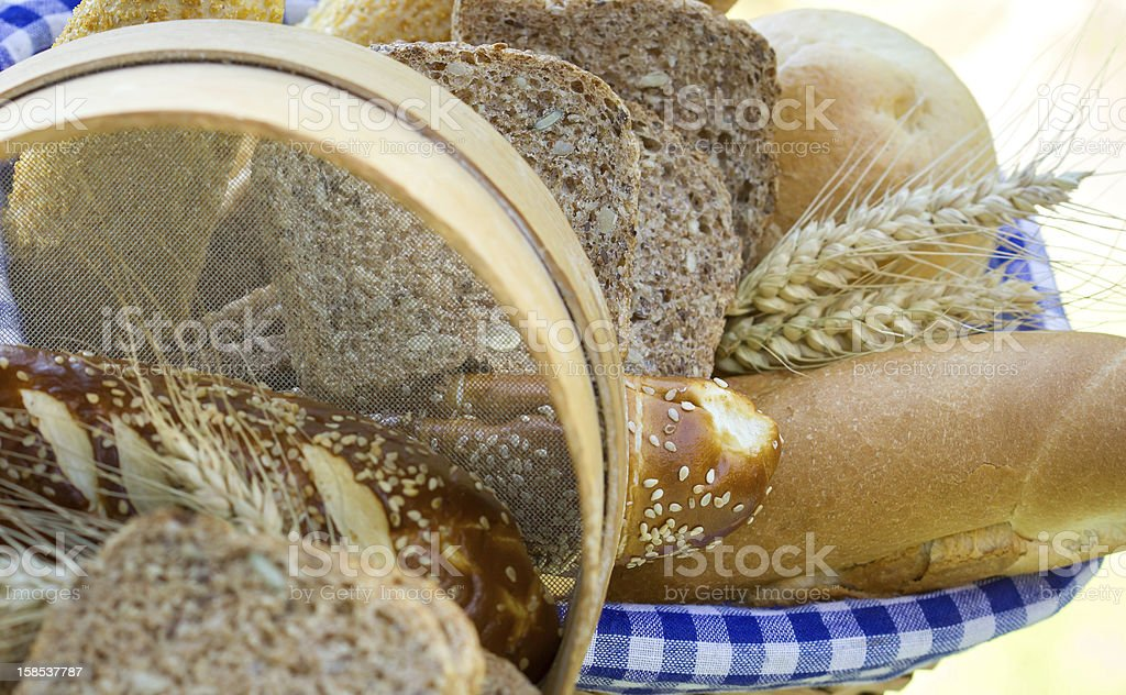 Bread and pastry royalty-free stock photo
