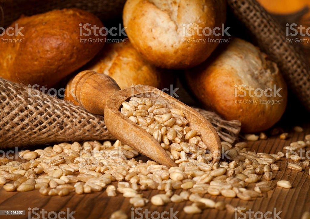 Bread and Whead stock photo