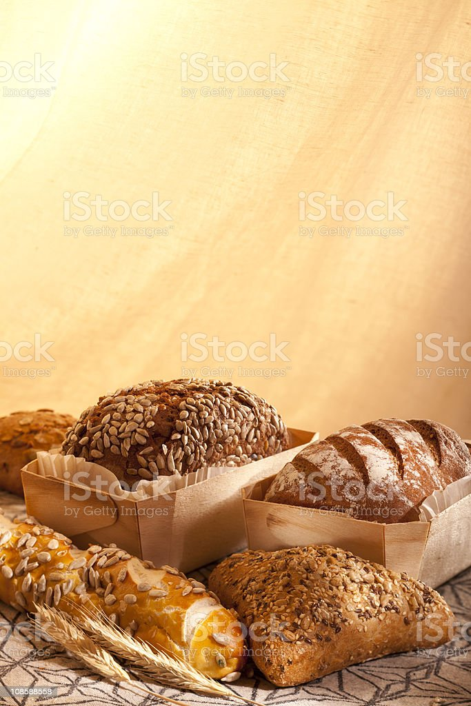 bread arrangement royalty-free stock photo