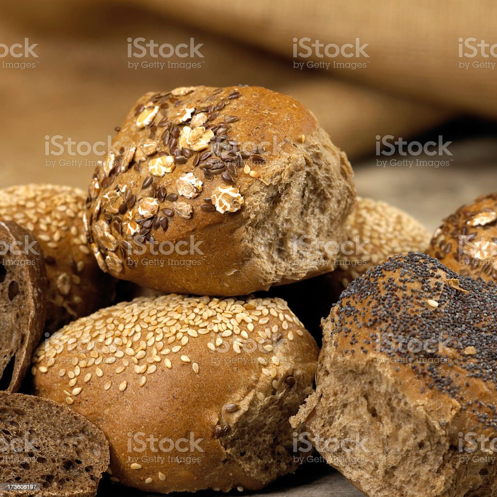 Bread assortment royalty-free stock photo