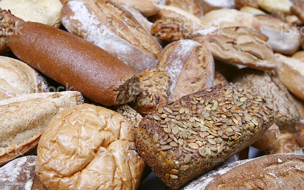 Bread Background royalty-free stock photo