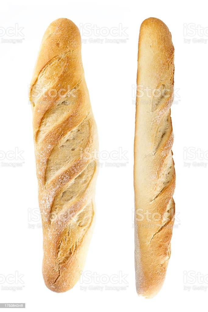bread baguette set stock photo