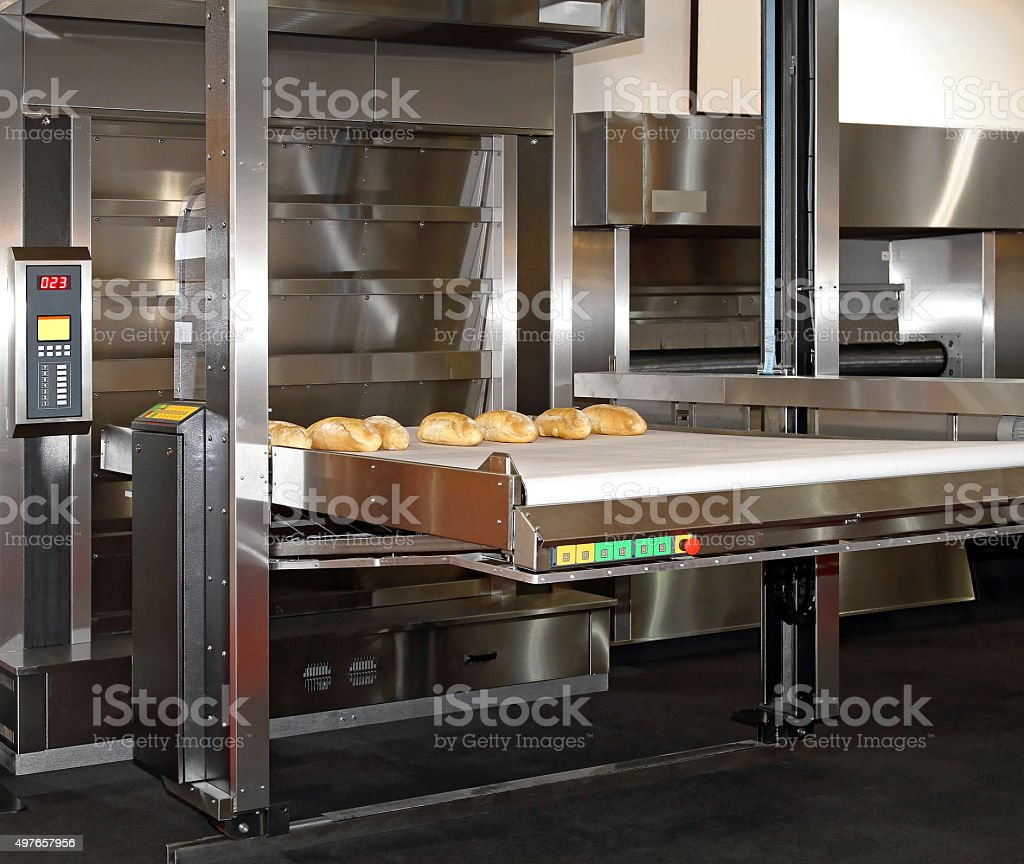 Bread Bakery Oven stock photo