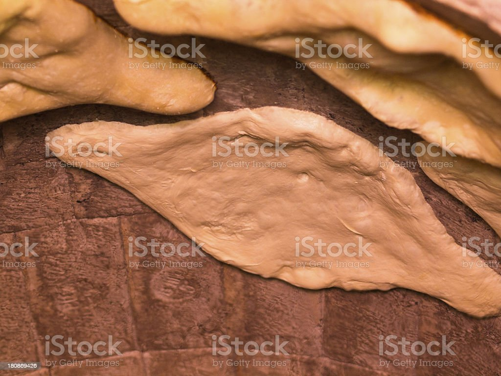 Bread Baking royalty-free stock photo