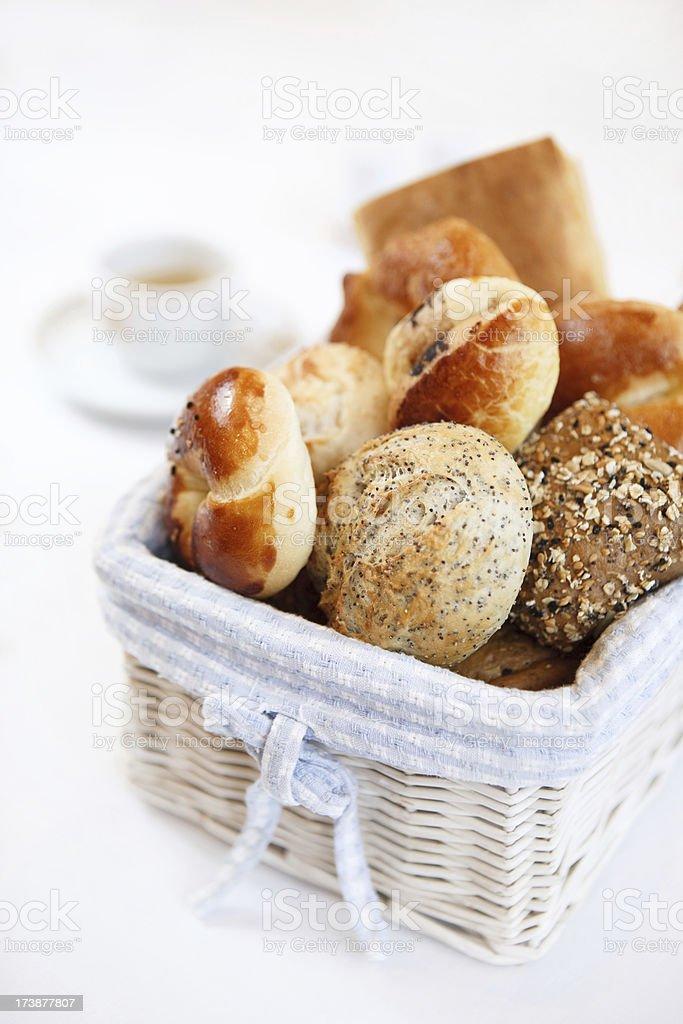 bread basket royalty-free stock photo