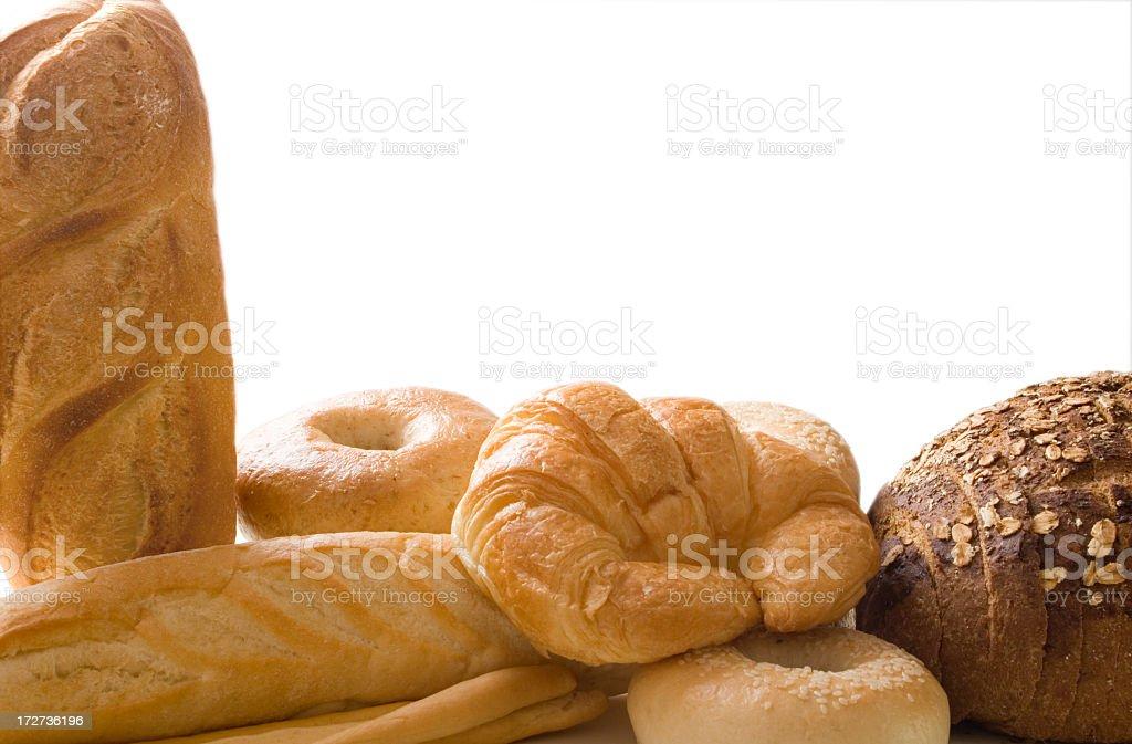 Bread border 3 royalty-free stock photo