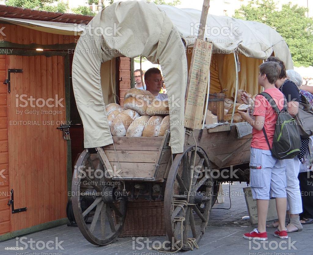 De pan carrito foto de stock libre de derechos
