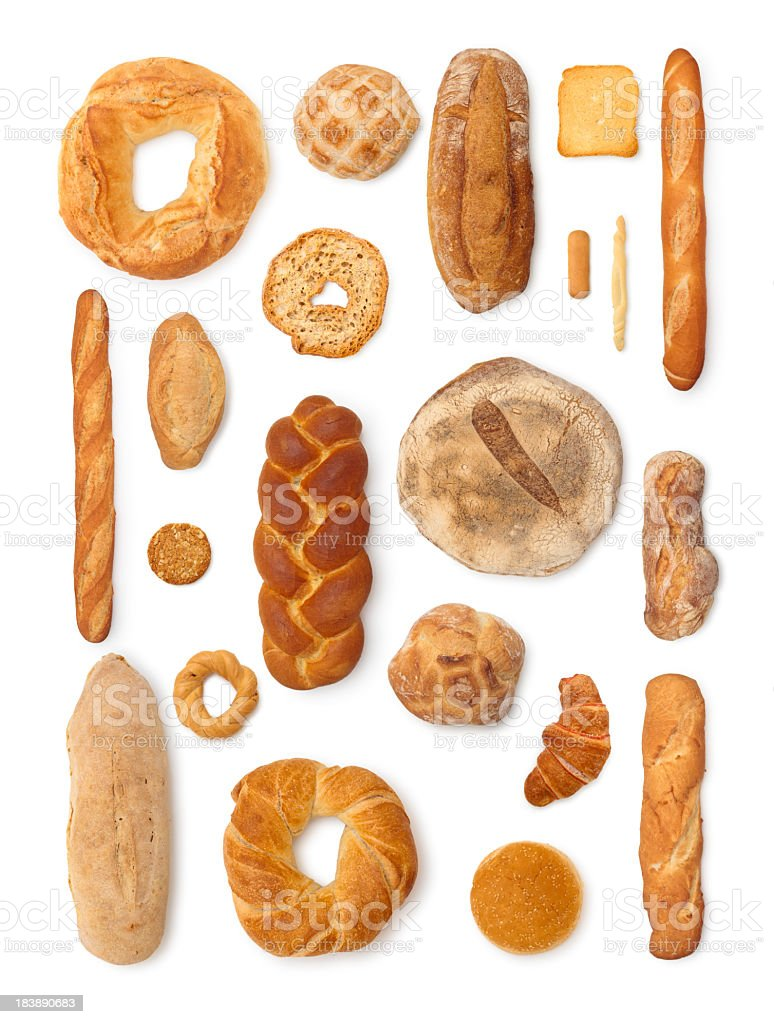 Bread Collection. stock photo