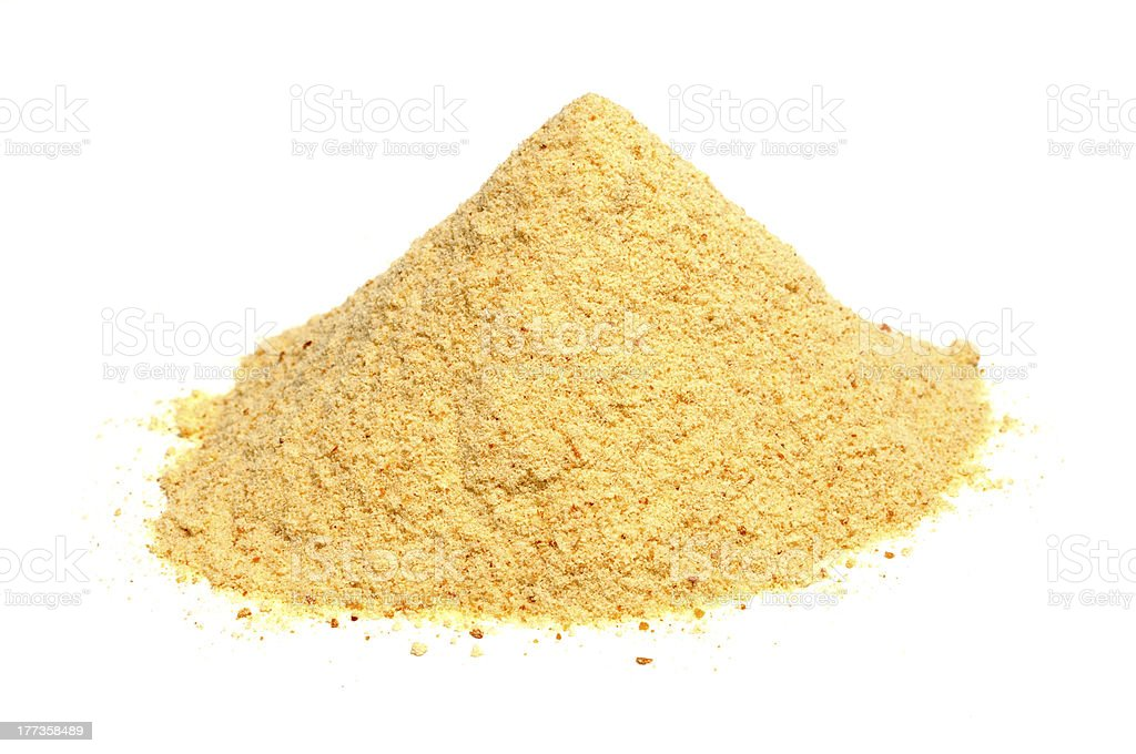 Bread Crumbs (Rusk Flour) stock photo