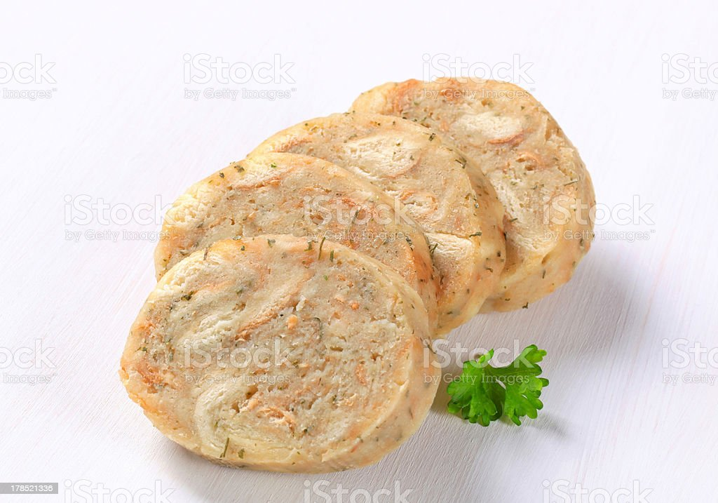 Bread dumplings royalty-free stock photo