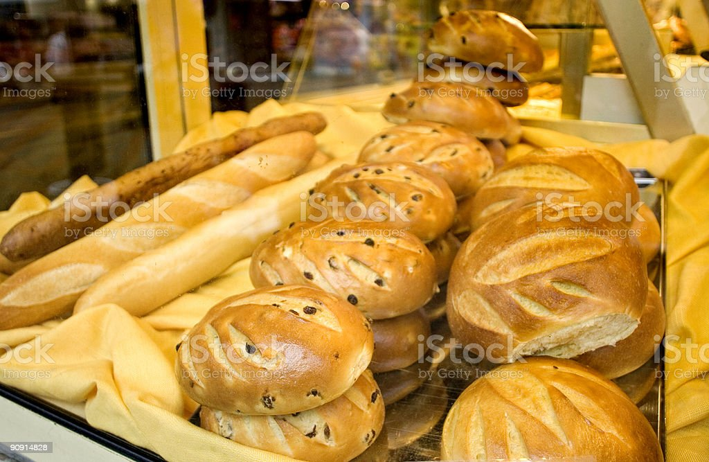 Bread for Sale royalty-free stock photo