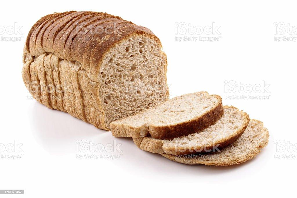 Bread full sliced royalty-free stock photo