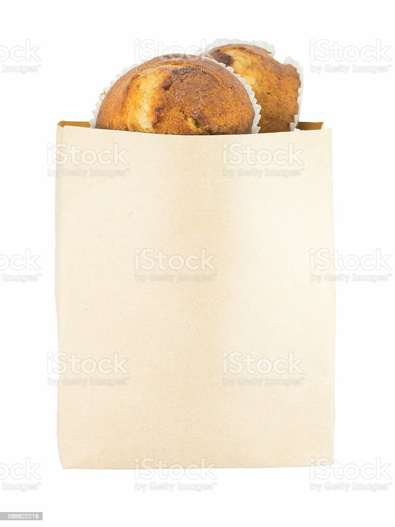 bread in bags stock photo