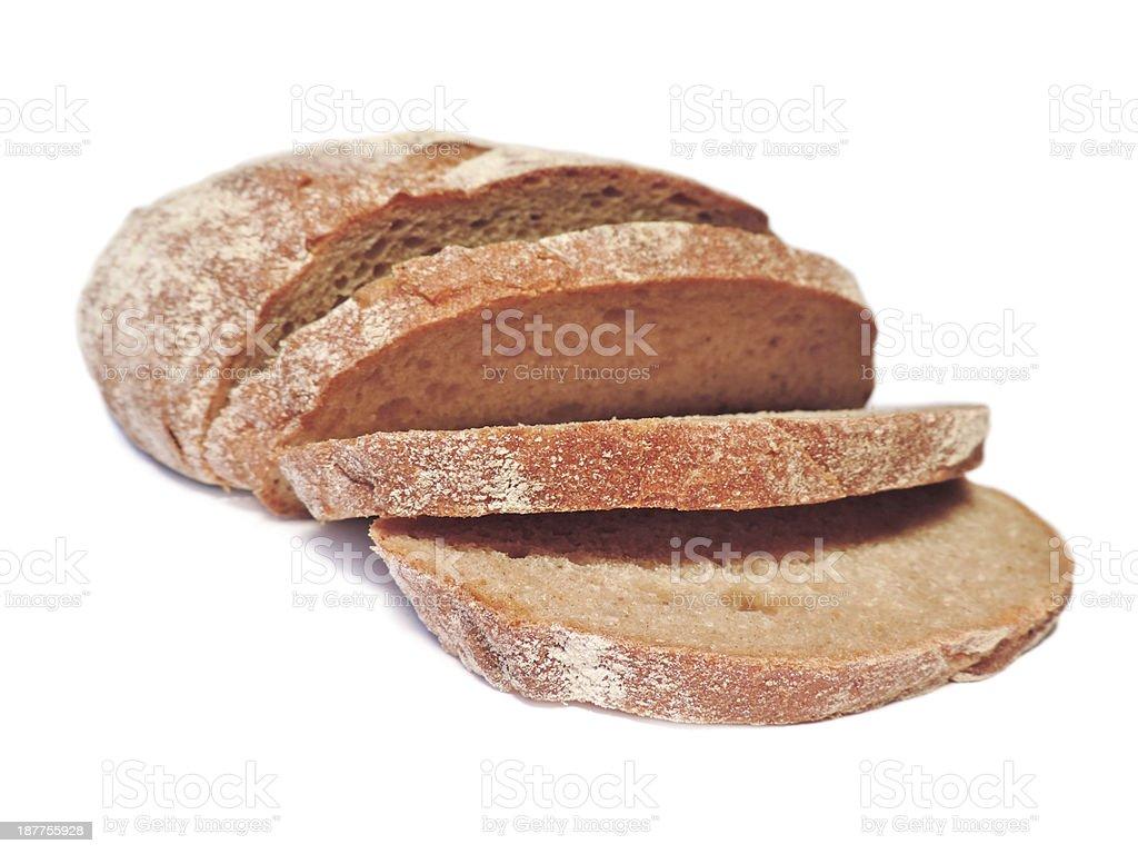 Bread in slices stock photo