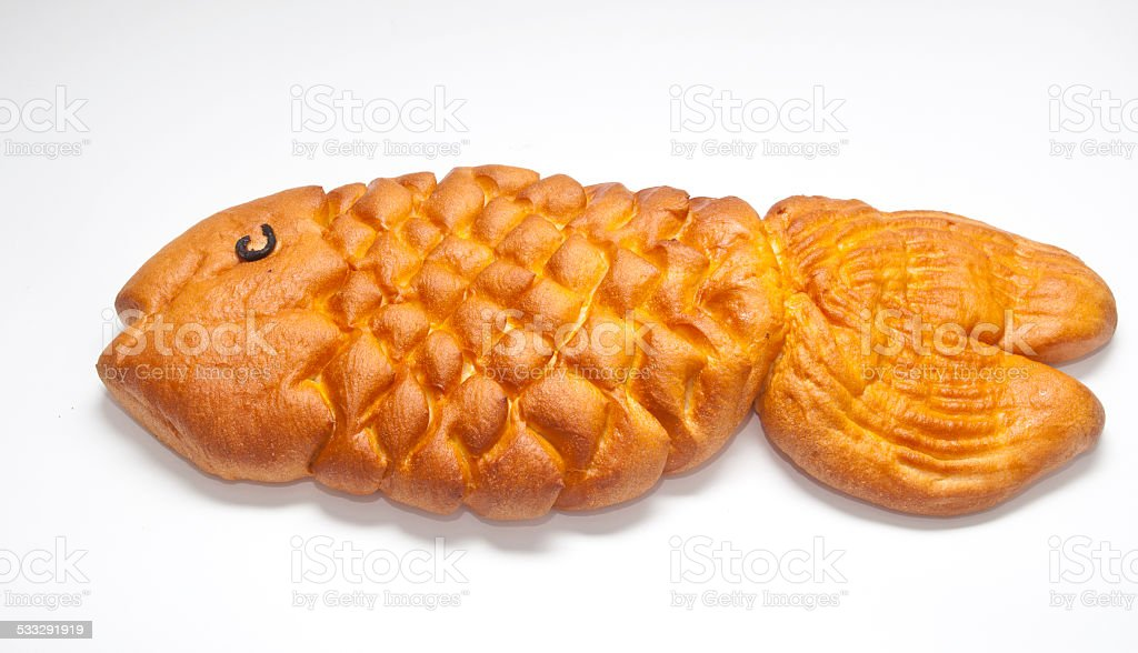 Bread in the form of fish royalty-free stock photo