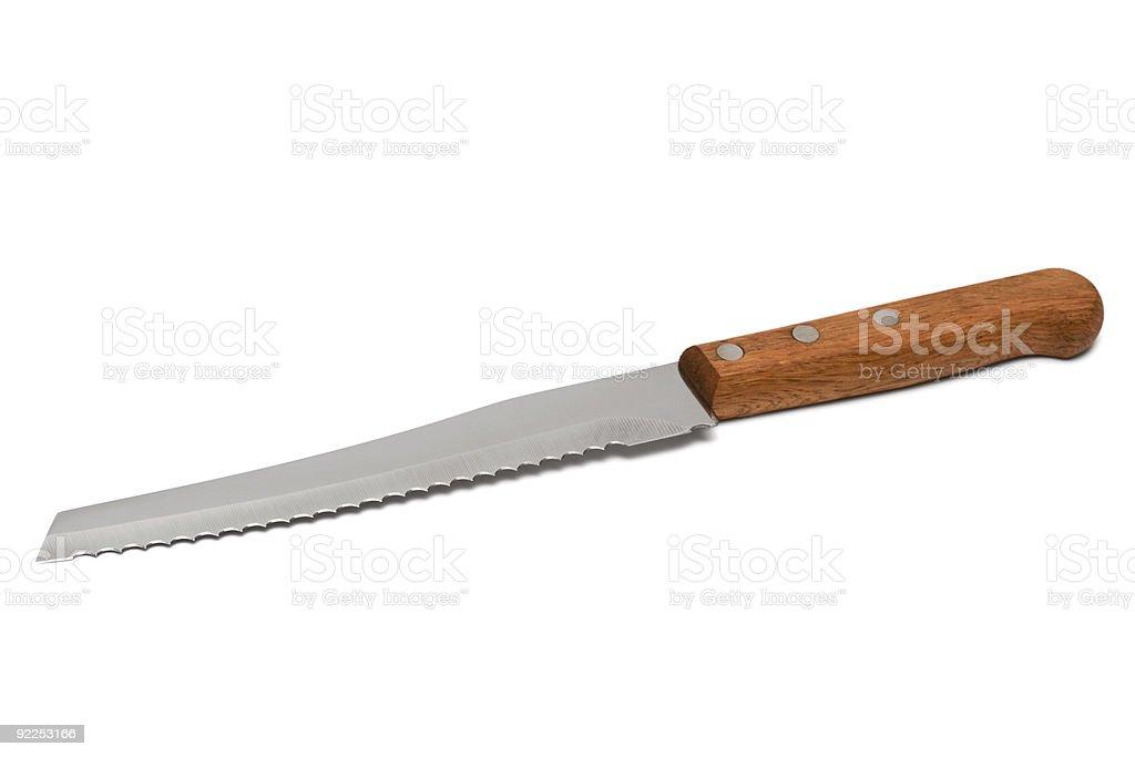 bread knife stock photo