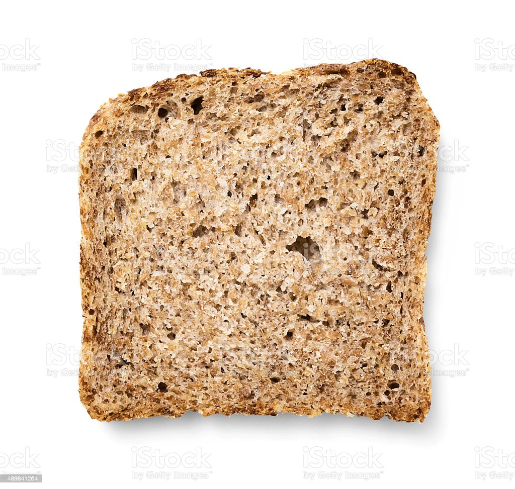 Bread made from wheat germ stock photo