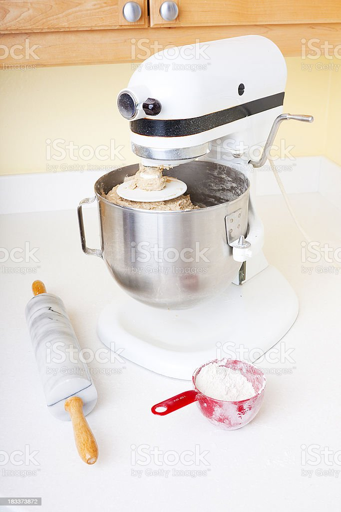 Bread Making royalty-free stock photo