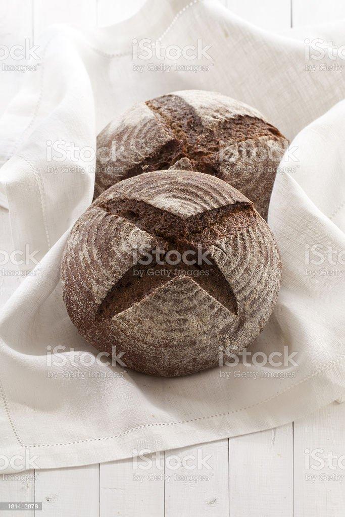 bread on white royalty-free stock photo