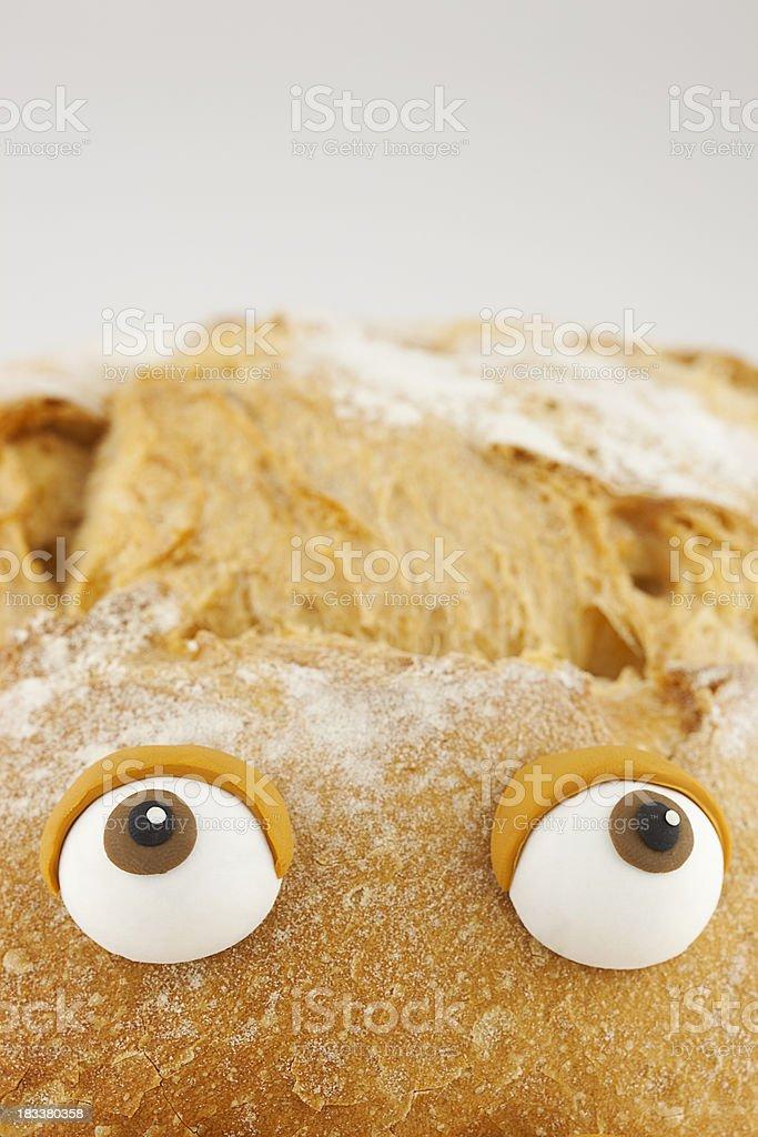 Bread portrait royalty-free stock photo
