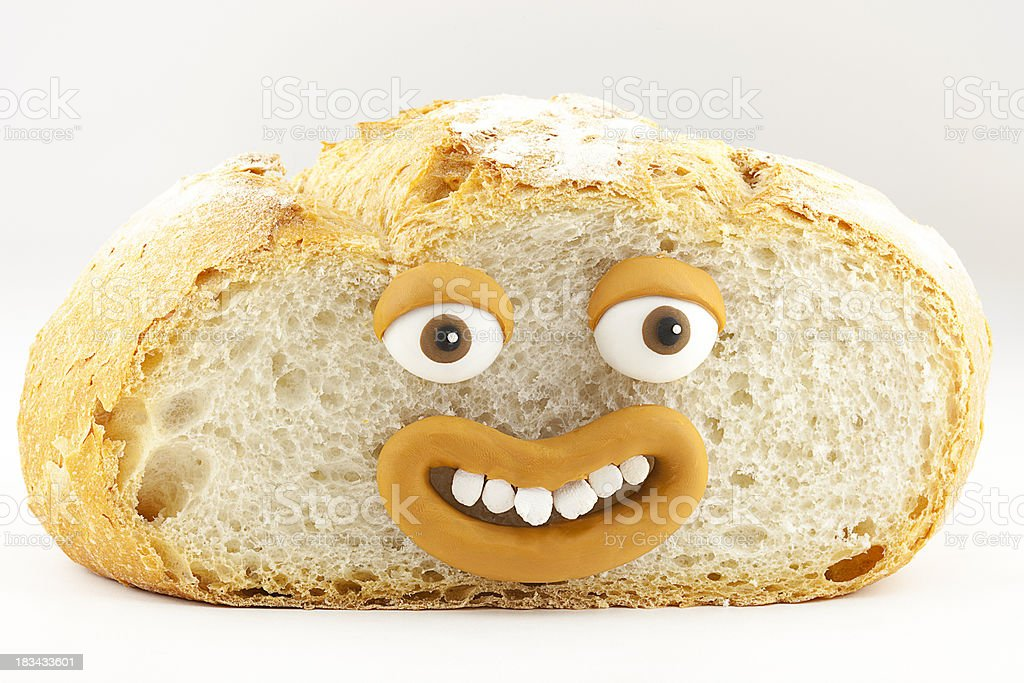 Bread portrait royalty-free stock photo