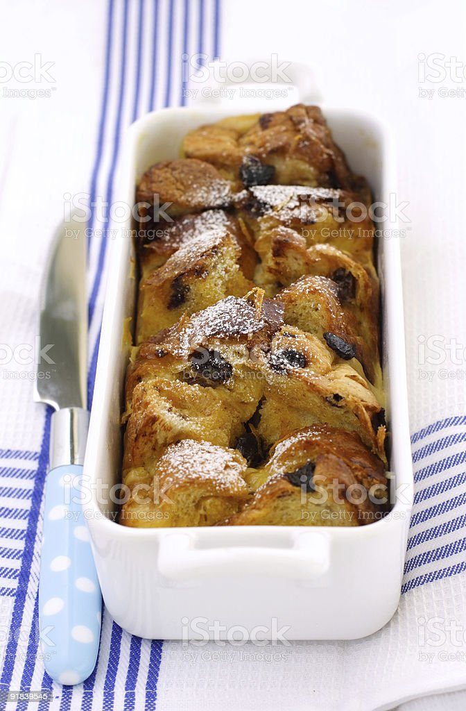 Bread Pudding royalty-free stock photo