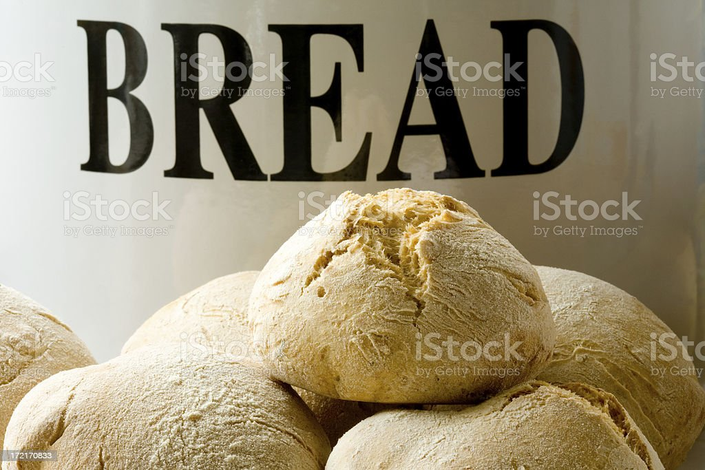 bread rolls royalty-free stock photo