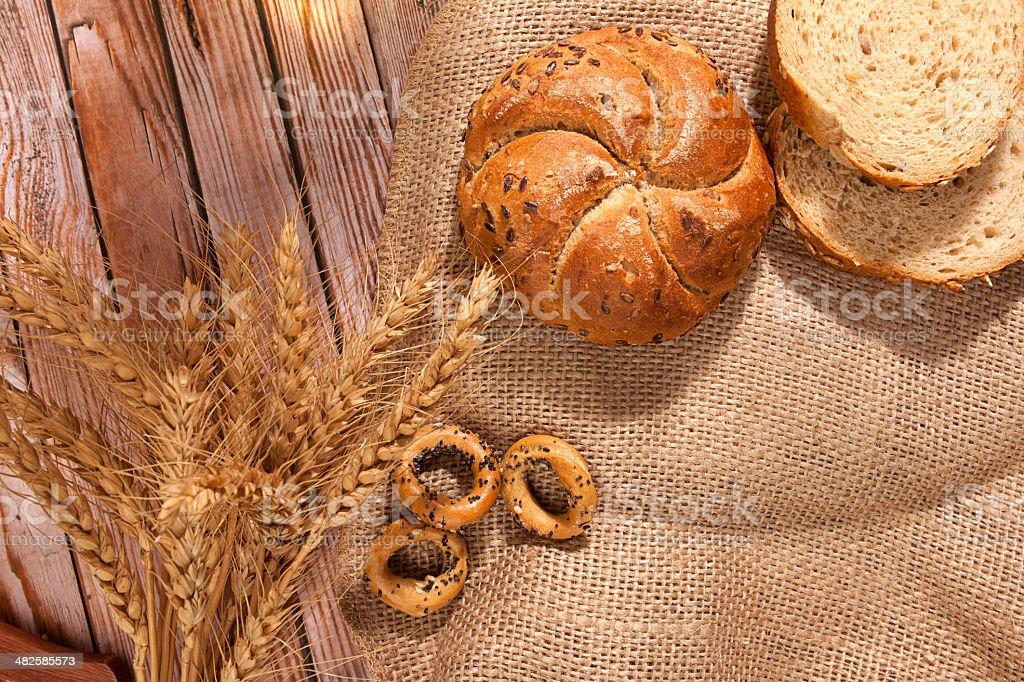 Bread series royalty-free stock photo
