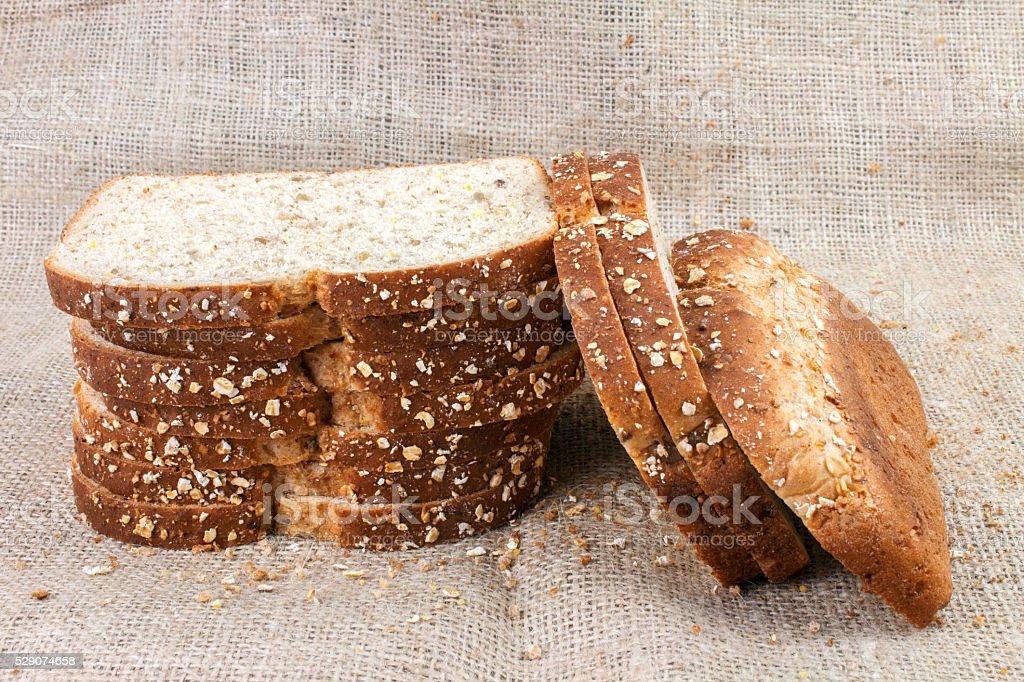 Bread Slices stock photo