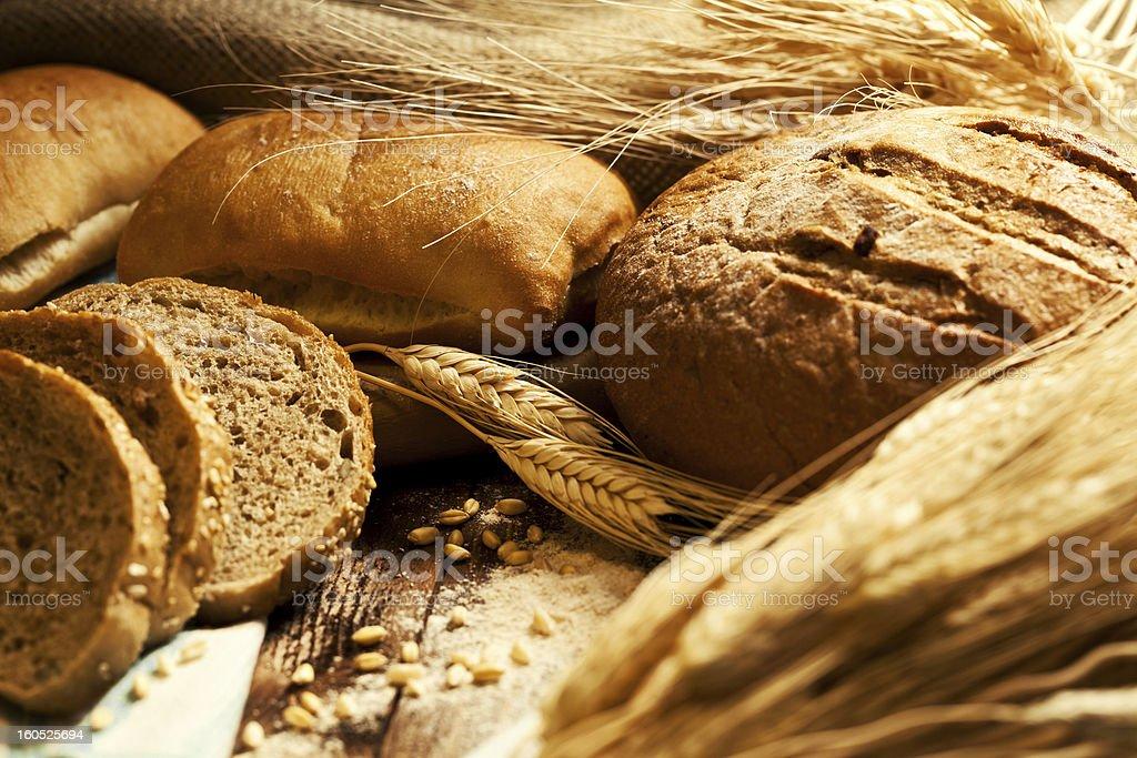 Bread still life royalty-free stock photo