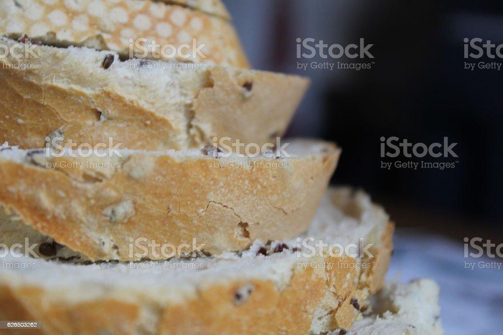 Bread - Stock Image stock photo