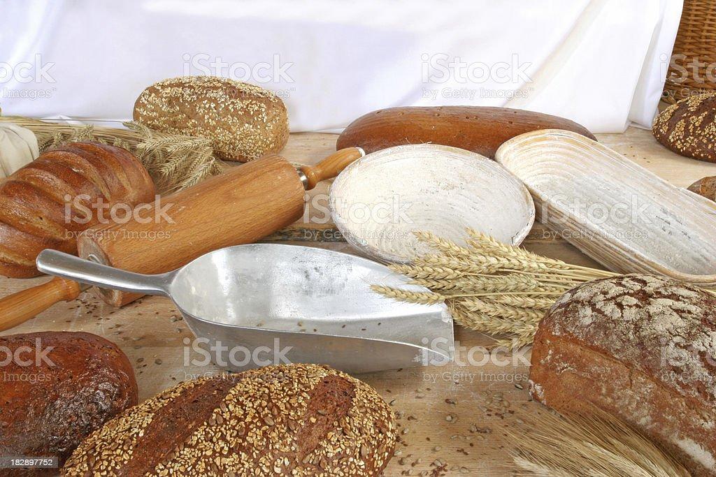 Bread Variations royalty-free stock photo