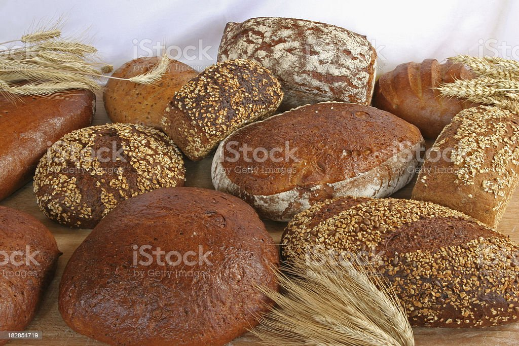 Bread Varieties royalty-free stock photo