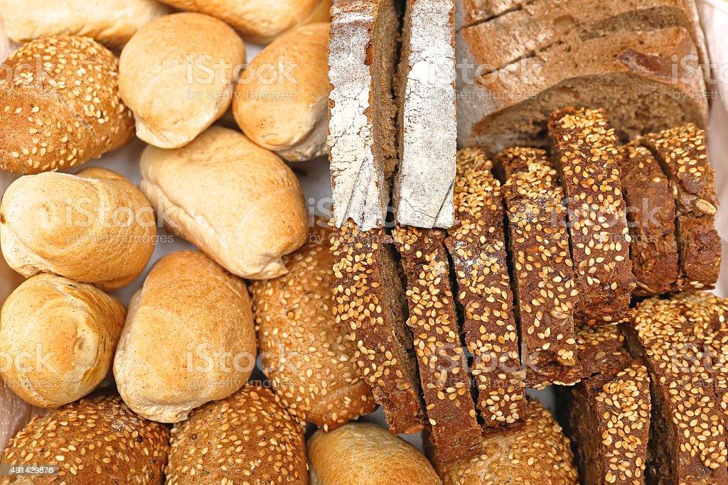 Bread Variety stock photo