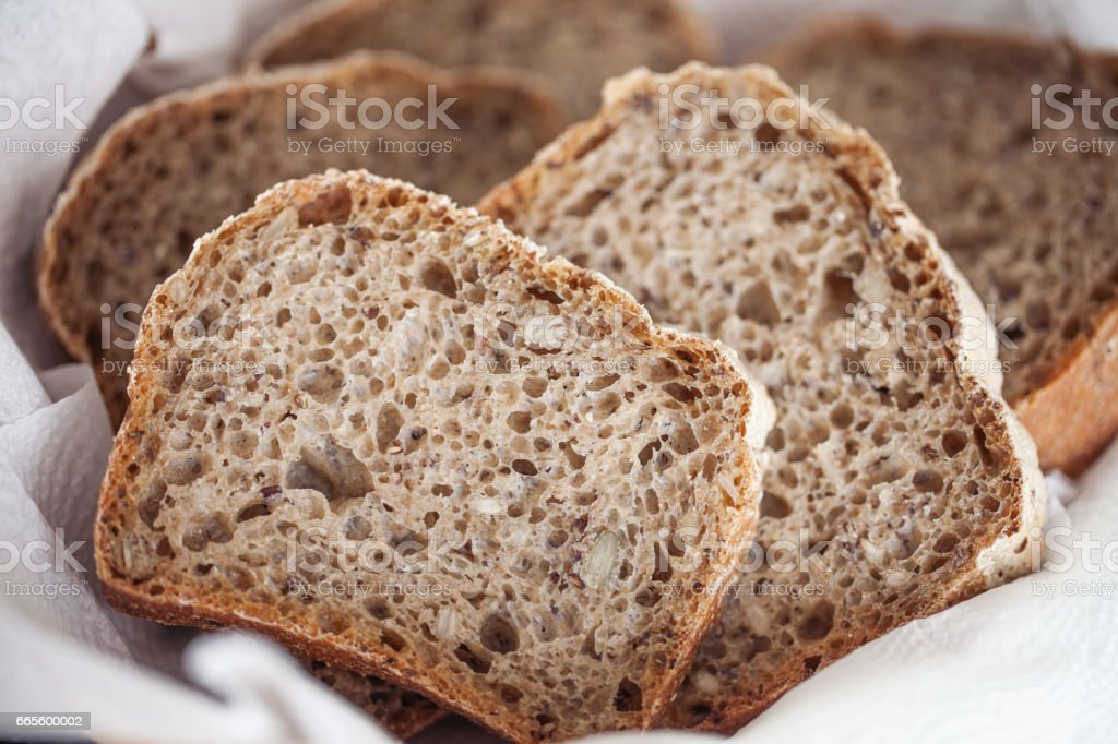 Bread with Leaven stock photo