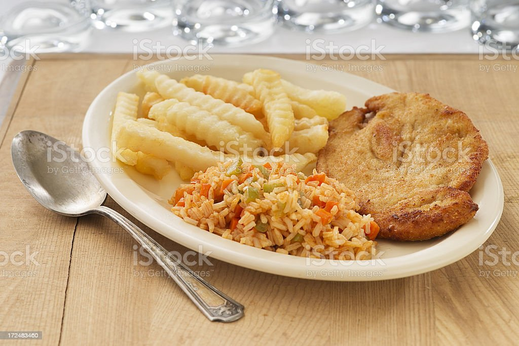 Breaded Chicken Fillet royalty-free stock photo