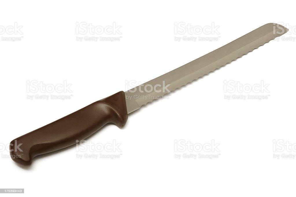 Breadknife royalty-free stock photo