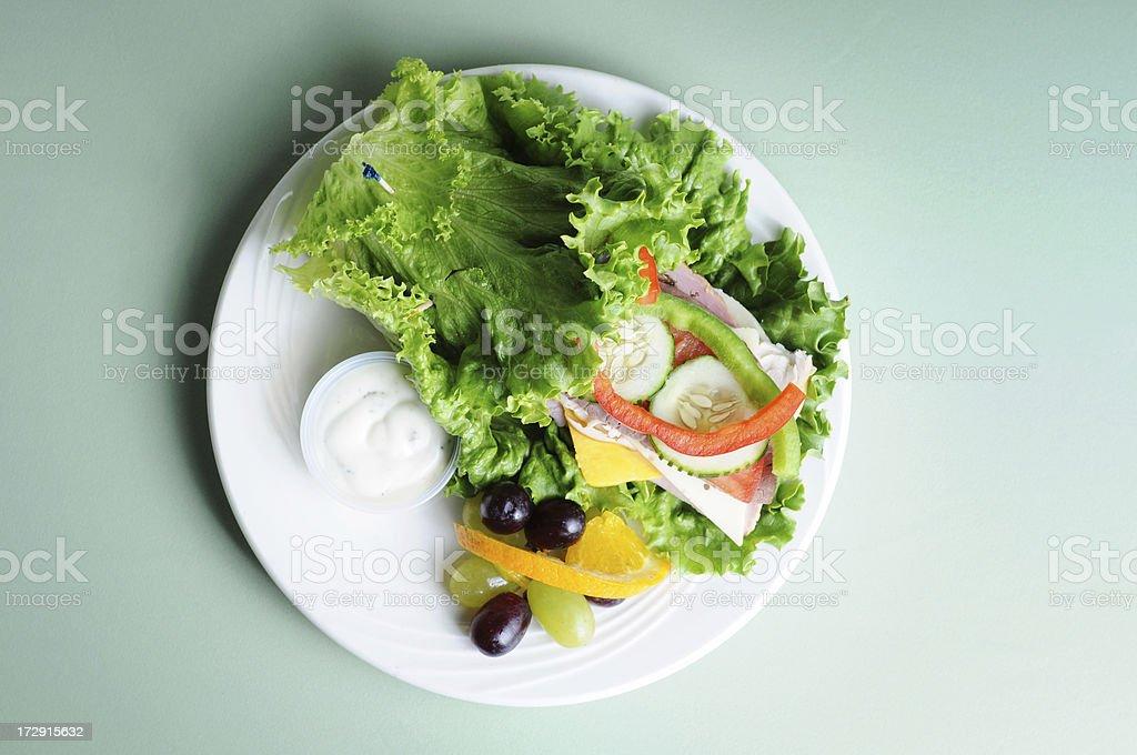 Breadless Sandwich royalty-free stock photo