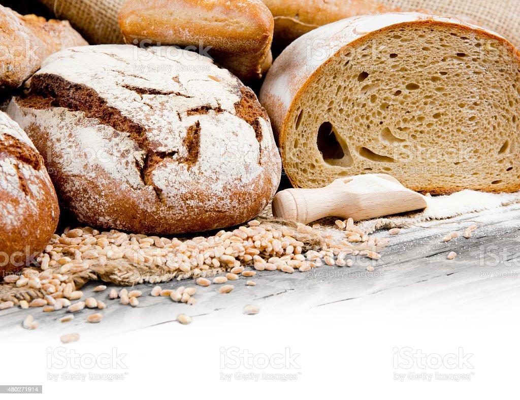 Breads stock photo