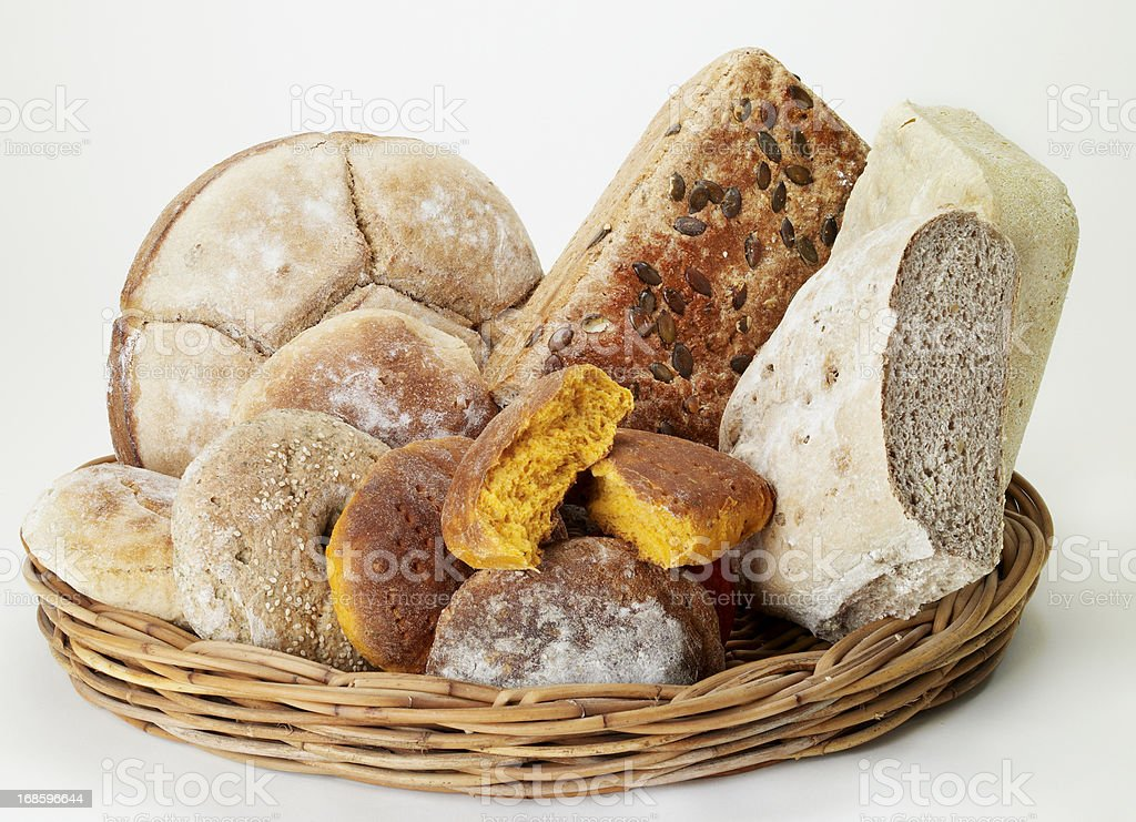 Breadtypes royalty-free stock photo