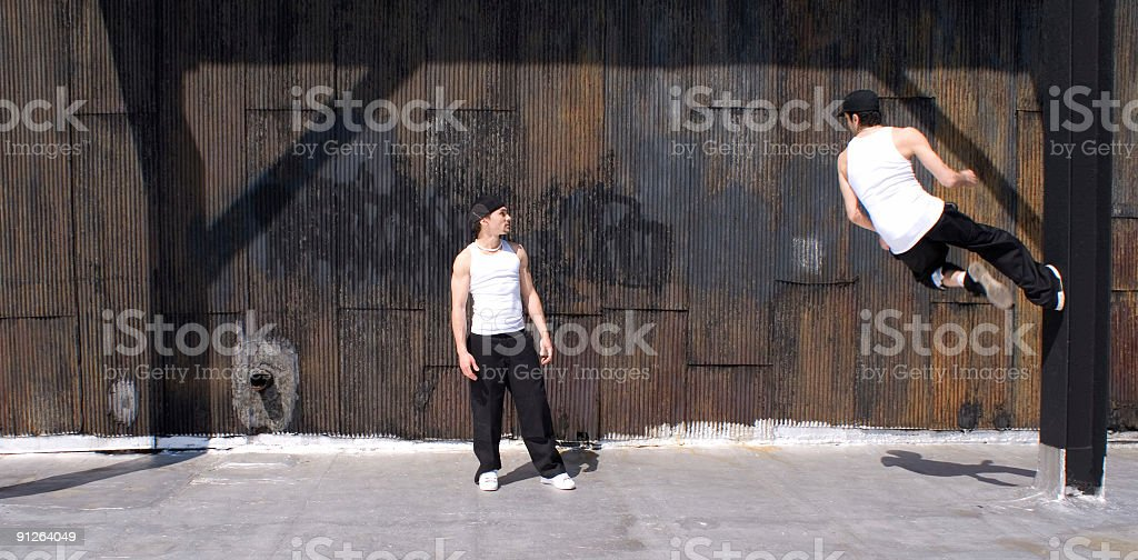 break dancers royalty-free stock photo