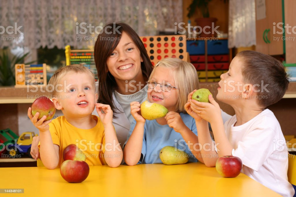 break for fruits royalty-free stock photo