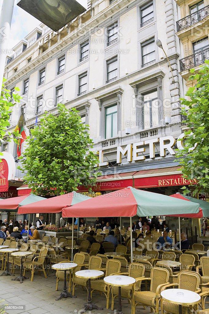Break in Brussels royalty-free stock photo