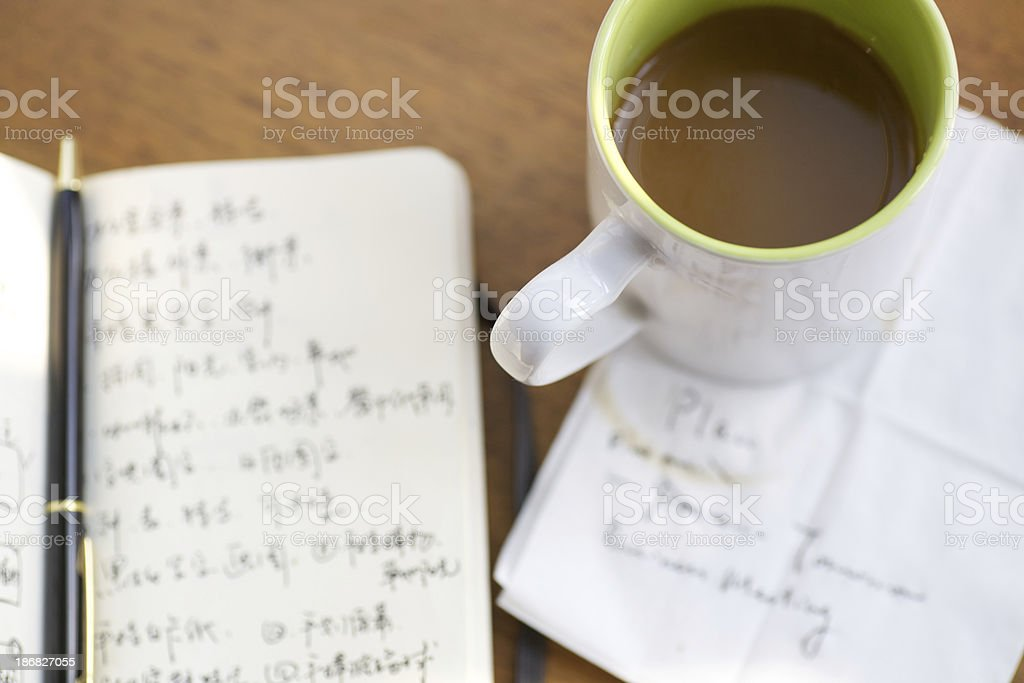 Break in the work day royalty-free stock photo