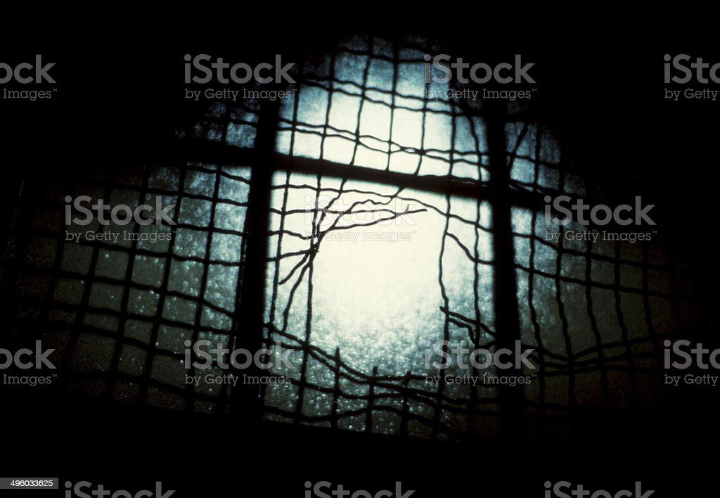 Break Out - Grungy stock photo